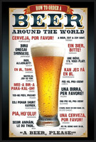 Poster beer how to order su for Cornice poster 61x91