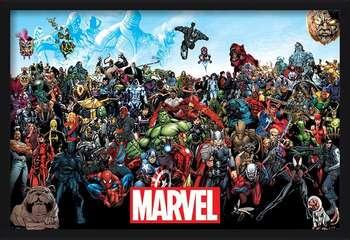 Marvel - Universe Poster Incorniciato