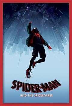 Spider-Man: Un Nuovo Universo - Fall Poster Incorniciato