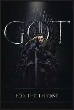 Il Trono di Spade - Jon For The Throne Poster Incorniciato