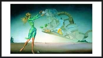 Salvador Dalí – Mirage Poster Incorniciato
