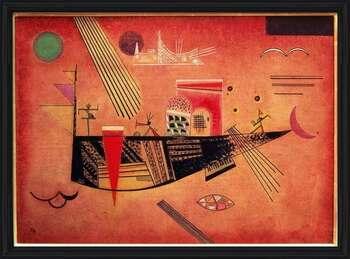Wassily Kandinsky - Whimsical Poster Incorniciato