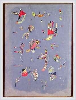 Wassily Kandinsky - Sky Blue Poster Incorniciato