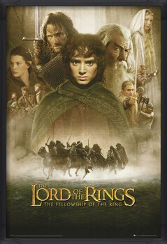 Poster incorniciato LORD OF THE RINGS - fellowship