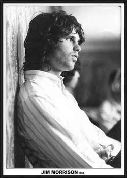Poster incorniciato Jim Morrison - The Doors 1968