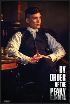 Poster incorniciato Peaky Blinders - By Order Of The