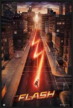Poster incorniciato The Flash - One Sheet