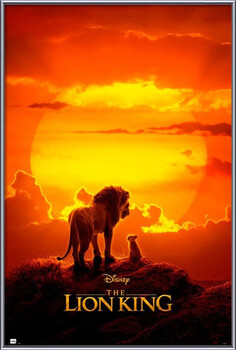 Poster incorniciato The Lion King - One Sheet