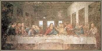 Poster incorniciato The Last Supper