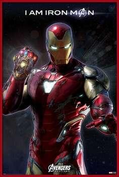Poster incorniciato Avengers Endgame - I Am Iron Man