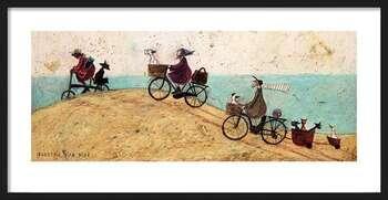 Poster incorniciato Sam Toft - Electric Bike Ride
