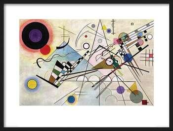 Poster incorniciato Wassily Kandinsky - Composition VIII