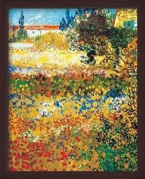 Poster incorniciato Flowering garden, 1898