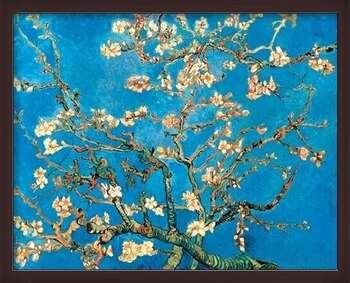 Poster incorniciato Almond Blossom - The Blossoming Almond Tree, 1890