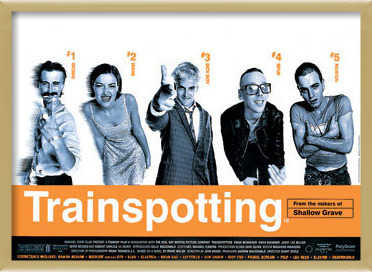Poster  TRAINSPOTTING - one sheet