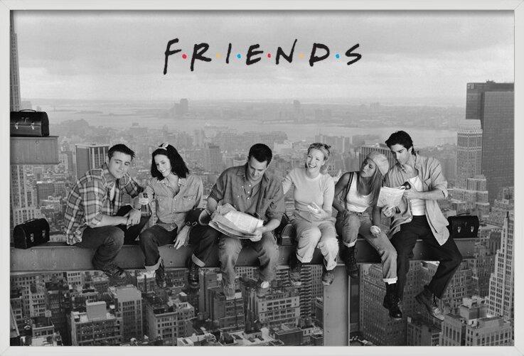 Poster  Friends - Pranzo in cima a un grattacielo