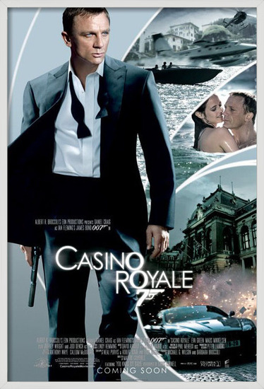 Poster  JAMES BOND 007 - casino royale iris one sheet