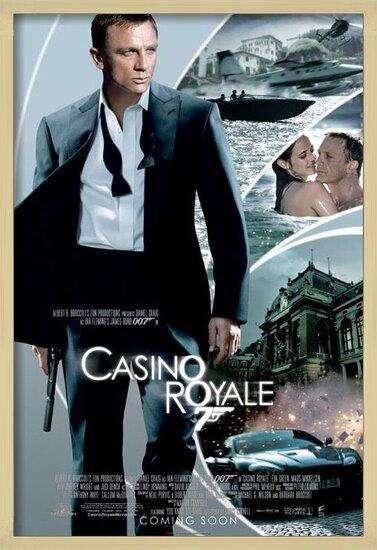 Poster  JAMES BOND 007 - casino royale iris one sheet