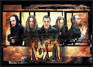Poster  Korn – gold