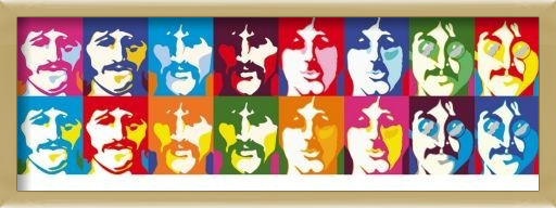 Poster  Beatles - sea of colour
