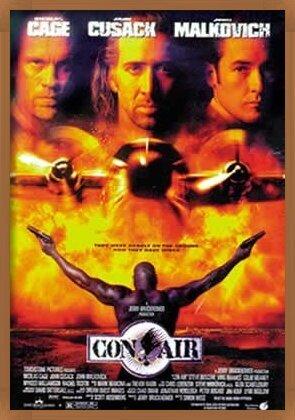 Poster CON AIR - movie