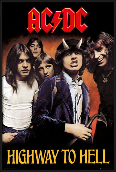 Poster  AC/DC - Highway to Hell