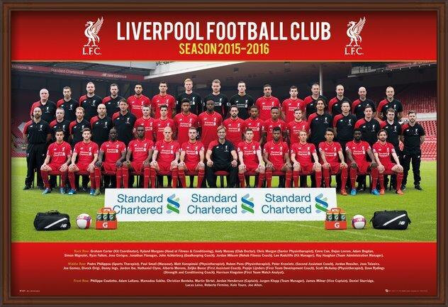 Poster  Liverpool FC - Team Photo 15/16