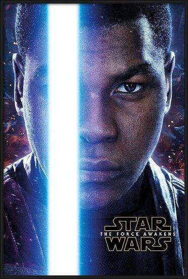 Poster  Star Wars, Episodio VII : Il risveglio della Forza - Finn Teaser
