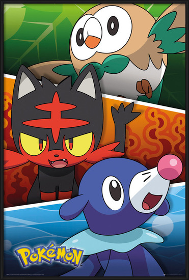 Poster  Pokemon - Alola Partners