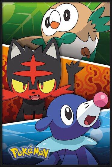 Poster  Pokemon - Alola Partners