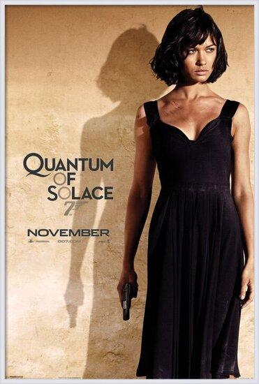 Poster JAMES BOND 007 - quantum of solace o.kurylenko