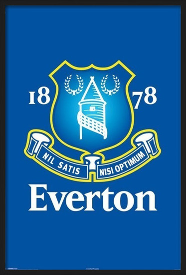 Poster Everton - crest