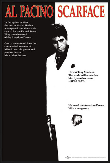 Poster  Scarface - movie