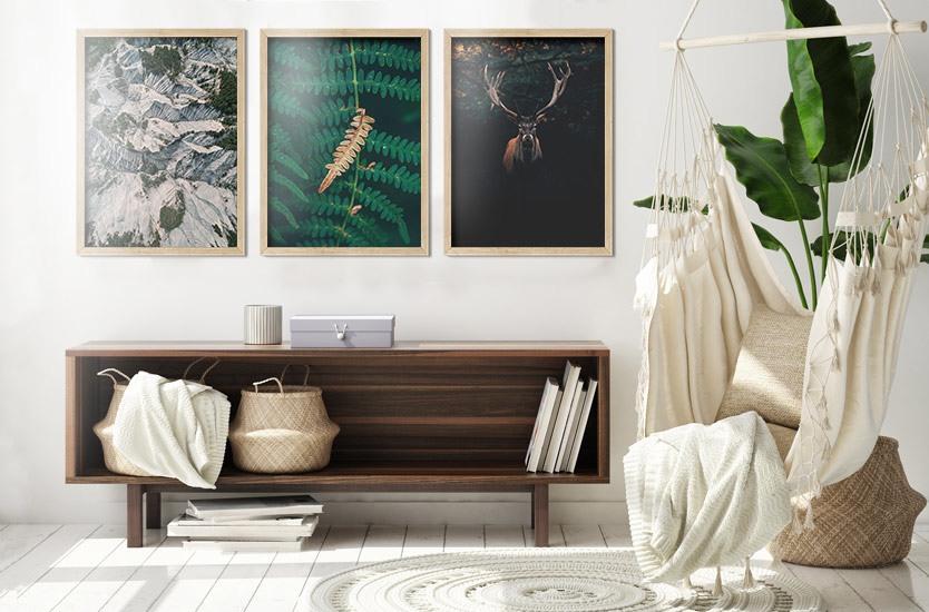 Fotografia artistica One dry fern blade