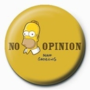 THE SIMPSONS - homer no opinion